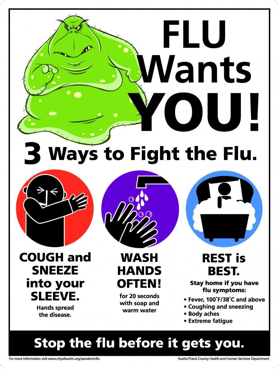 Flu Vaccine Flyers Free: AustinTexas.gov - The Official
