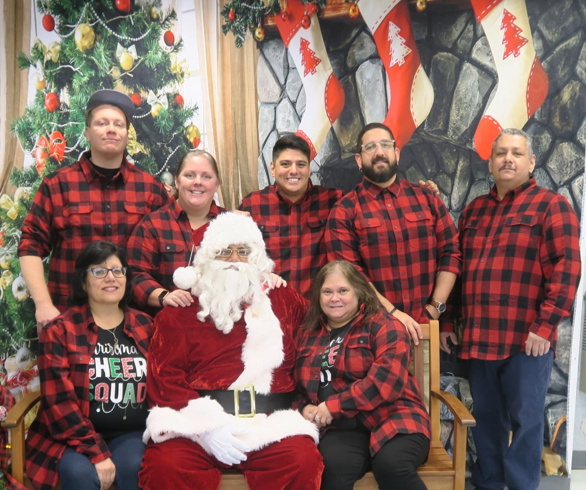 South Austin Senior Activity Staff Picture - Holidays 2019