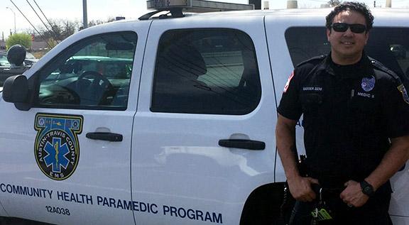 Meet A Medic: Mike Sasser, Medic-II Field | AustinTexas.gov