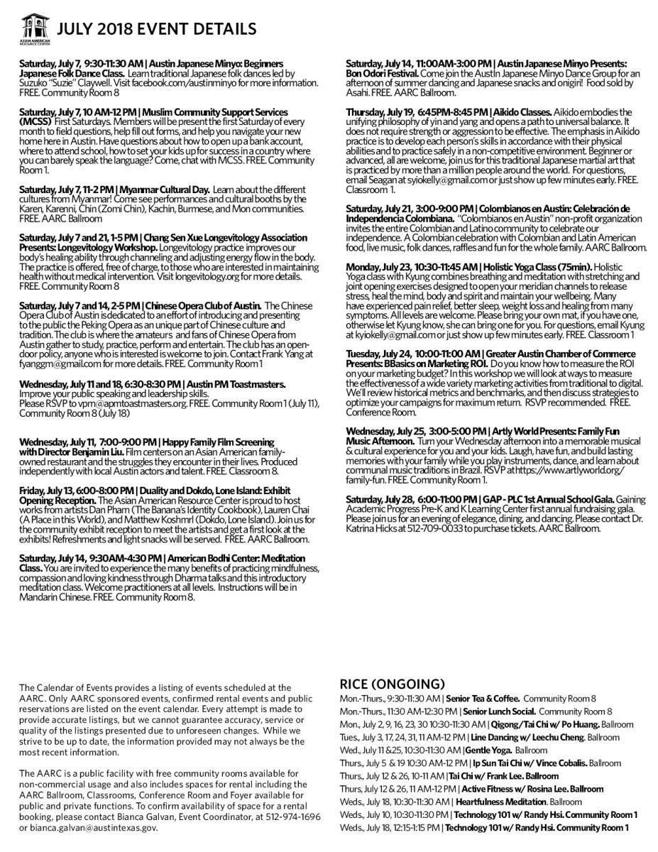 Asian American Resource Center Events | AustinTexas.gov   The