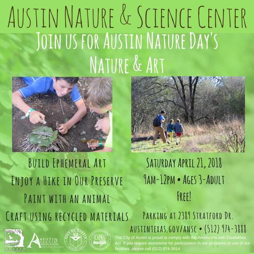 Nature Preserve Austin Science
