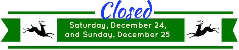 December Closed Dates for ANSC