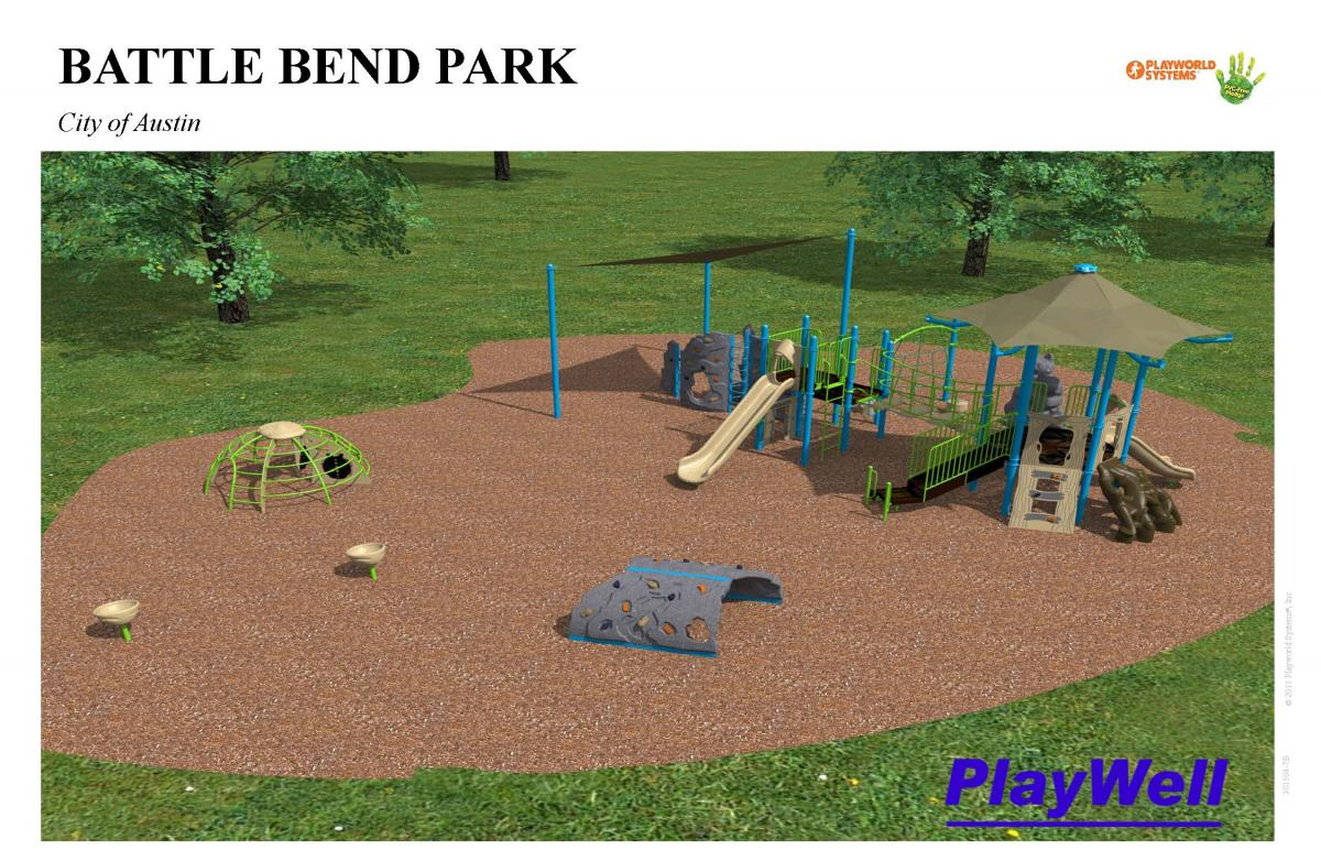 Battle Bend Park proposed playscape