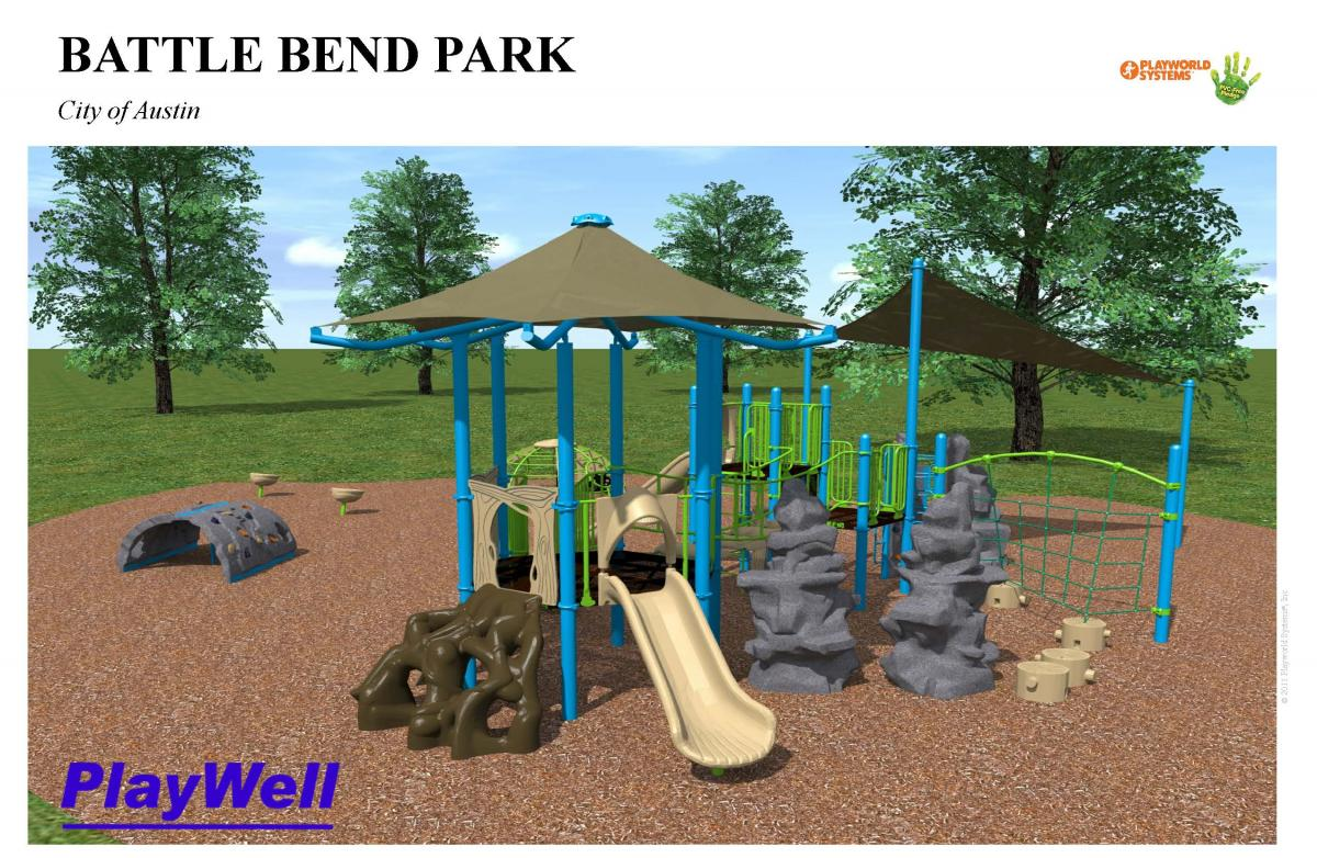 Battle Bend Park proposed swings
