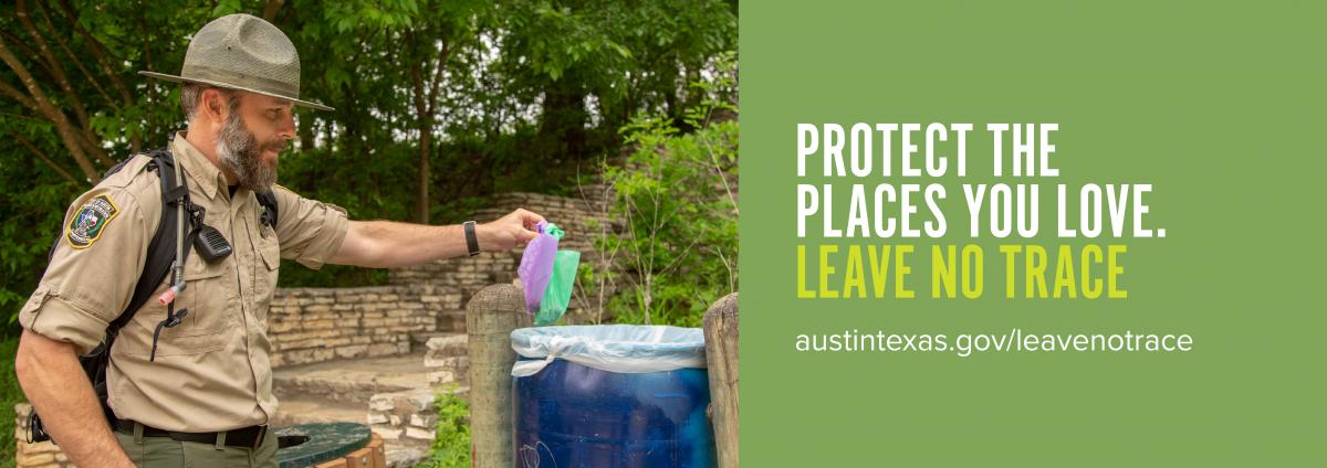 Protect the places you love. Leave No Trace