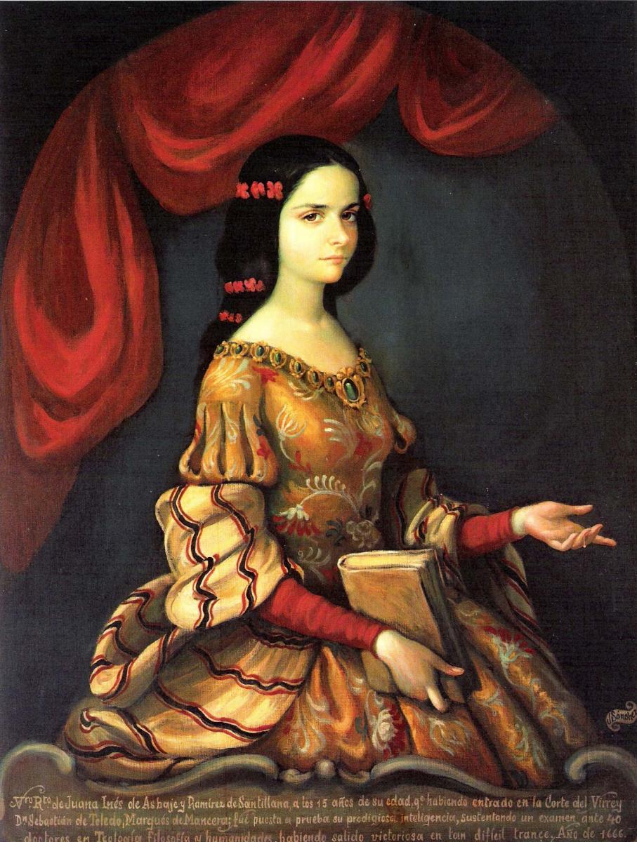Sor Juana portrait