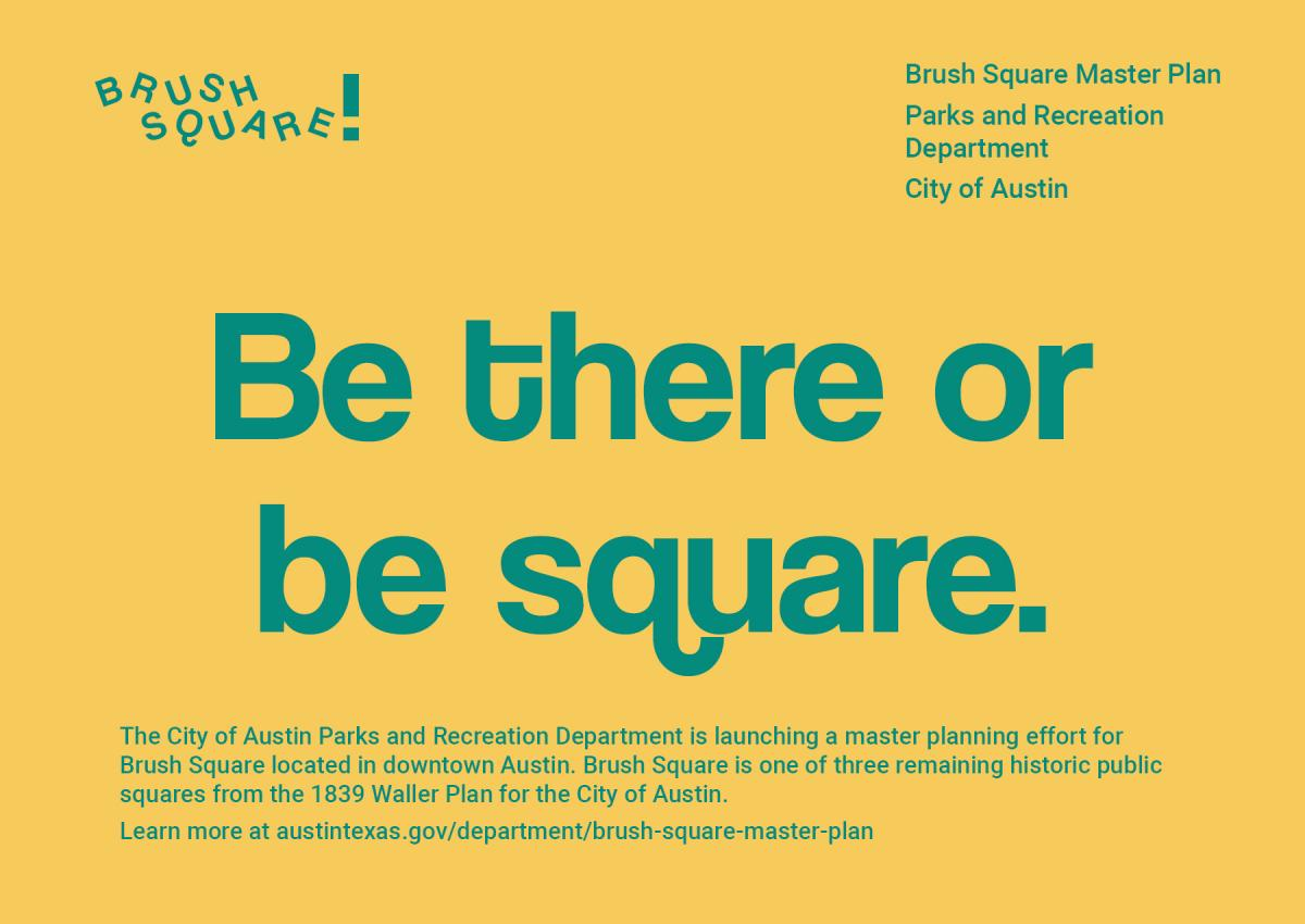 Brush Square Master Plan – City Of Austin Site Plan Application