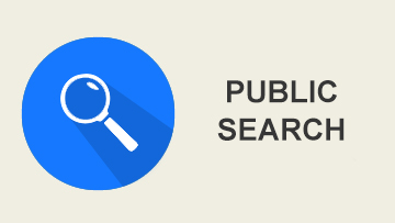 public search to view the online public search portal for permits and cases
