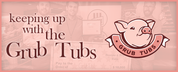 Keeping up with the Grub Tubs Banner