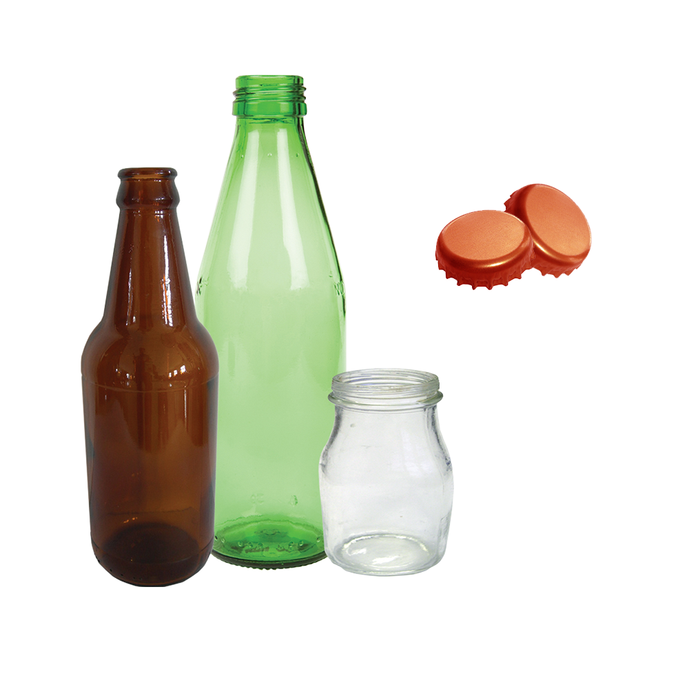 Image of glass containers