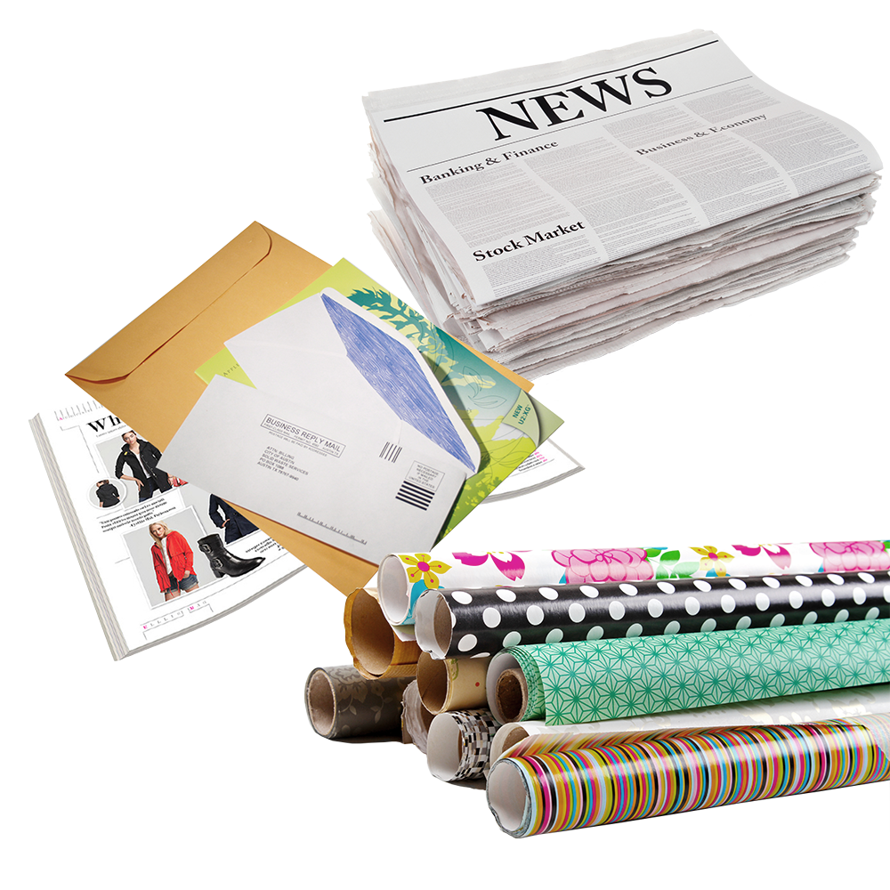 Image of various paper types