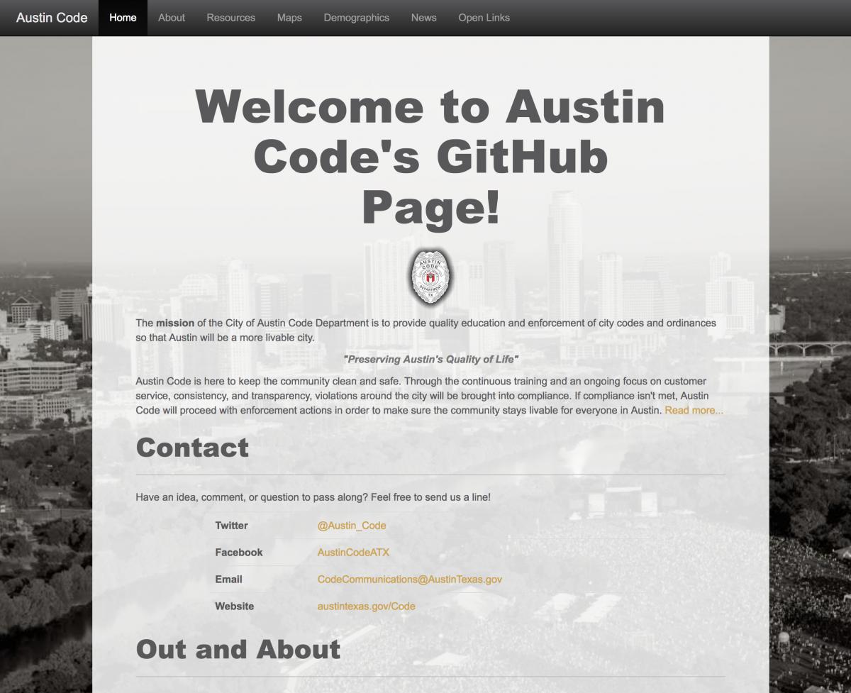 Austin Code Online Resources | AustinTexas gov - The Official