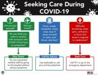 Seeking Care During COVID-19 Flyer