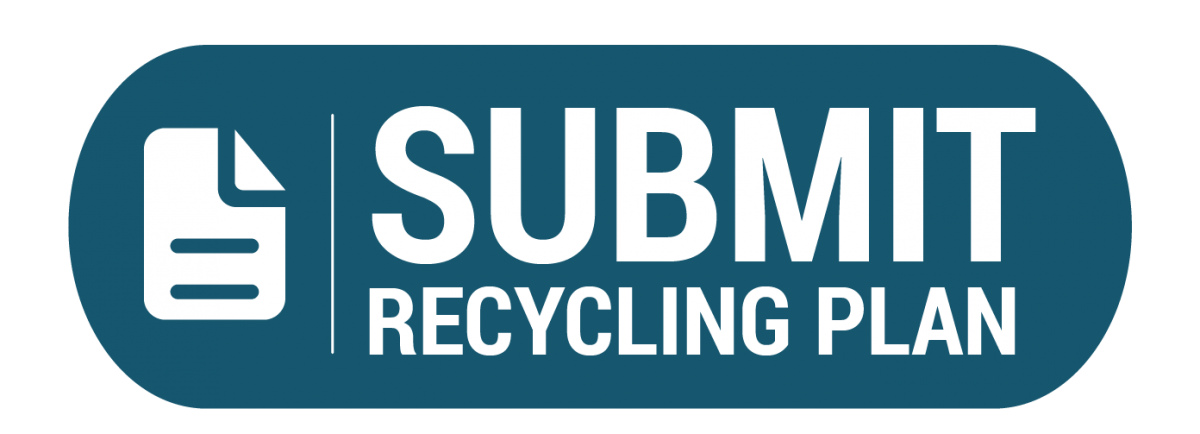 Blue button: Submit Recycling Plan