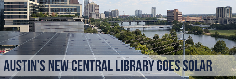 Austin's New Central Library goes solar