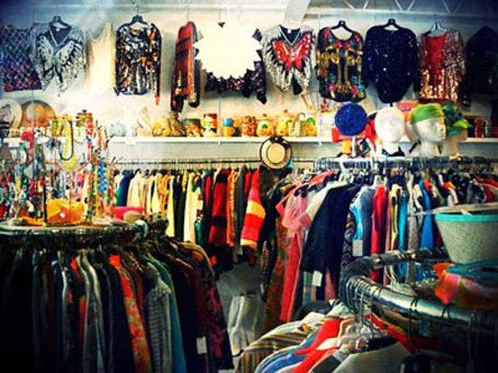 image of a thrift store