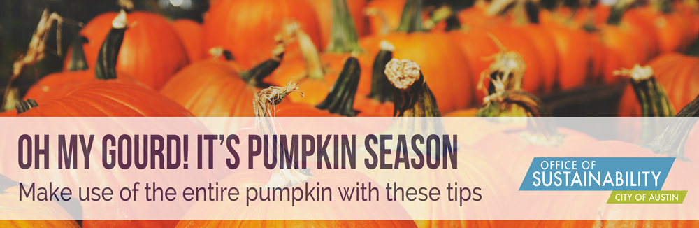 Oh my gourd! It's pumpkin season: Make use of the entire pumpkin with these tips
