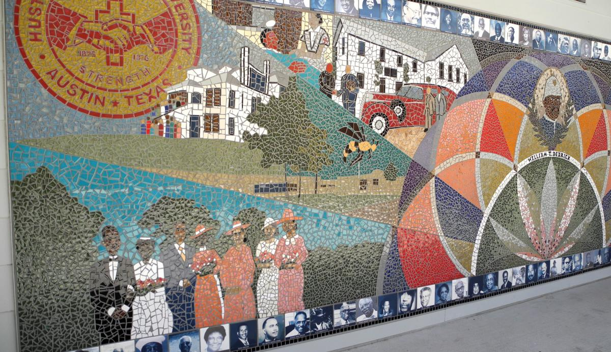 image of the mural at the African American Cultural Center
