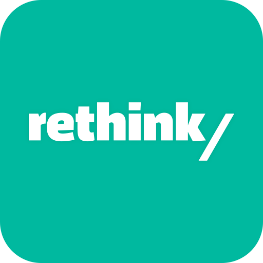 the rethink app icon