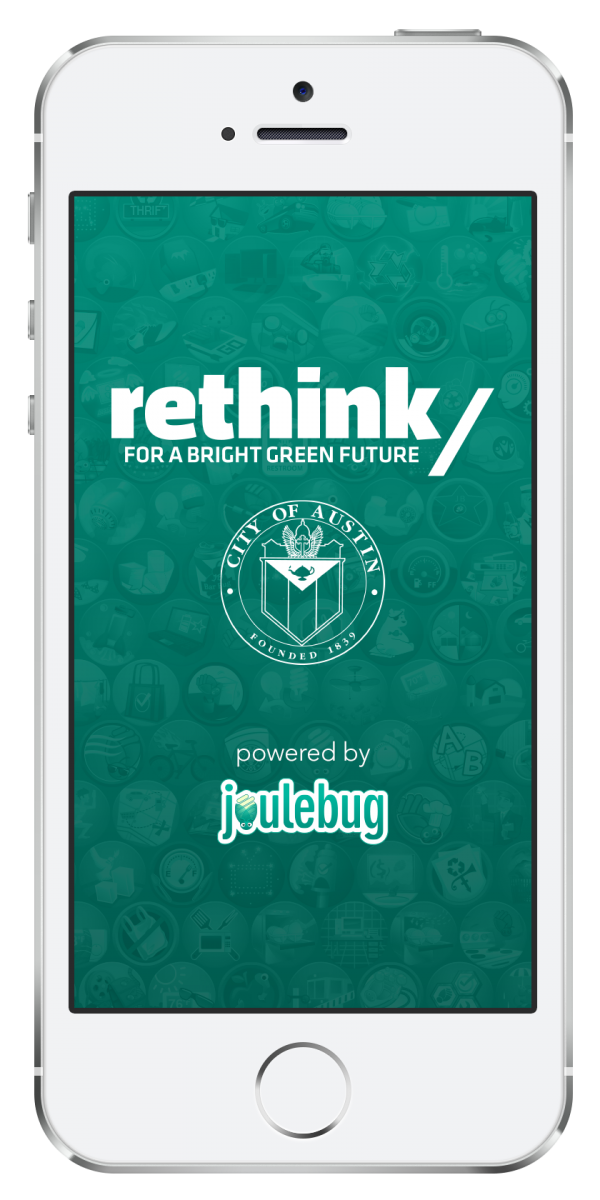 Rethink Mobile App Cell Phone graphic