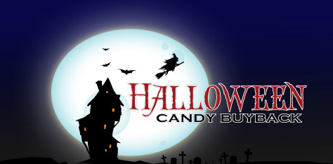 halloween candy buyback logo