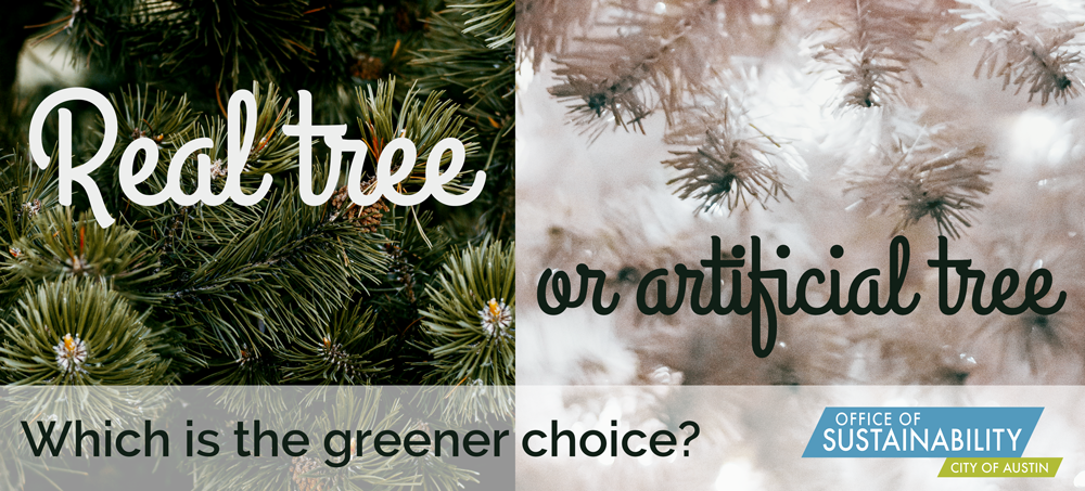Real tree or artificial tree: which is the greener choice?