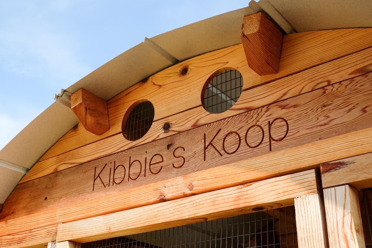 Kibbie's Koop detail