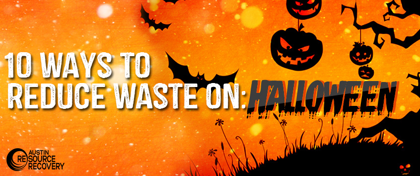 10 ways to reduce waste on halloween