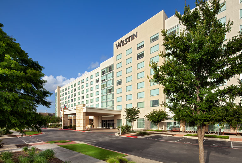Photo of the Westin hotel