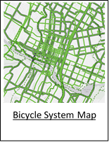 Bicycle System Map