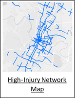 High-Injury Network Map