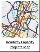Roadway Capacity Projects Map