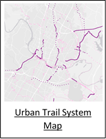 Urban Trail System Map