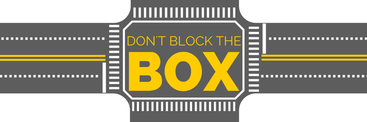 Don't Block the Box banner