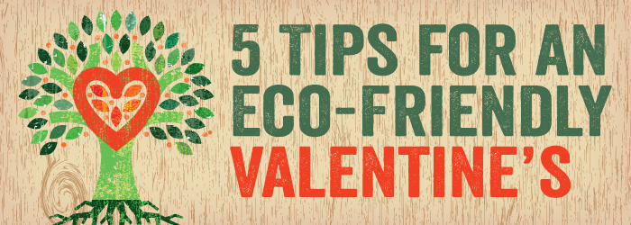 5 Tips for an Eco-Friendly Valentine's