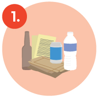 1. recyclables