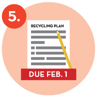 5. recycling plan