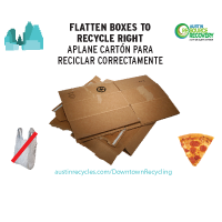 Thumbnail image of Central Business District Cardboard Recycling Poster