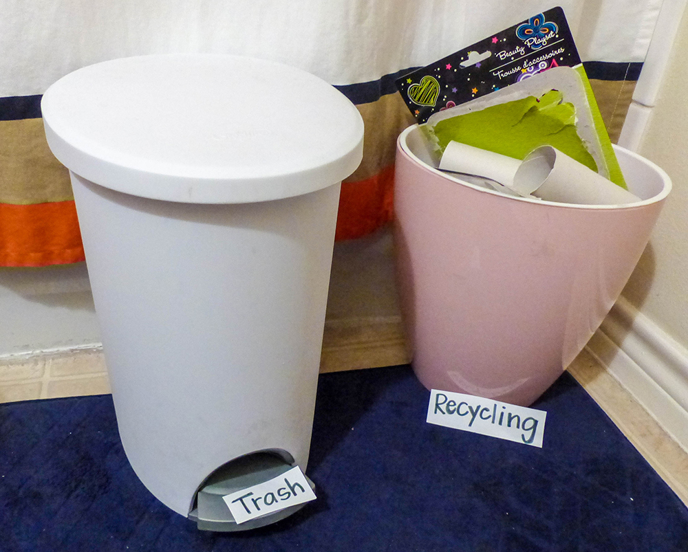 College lifestyle vs recycling lifestyle why choose when for Things to make with recycled materials