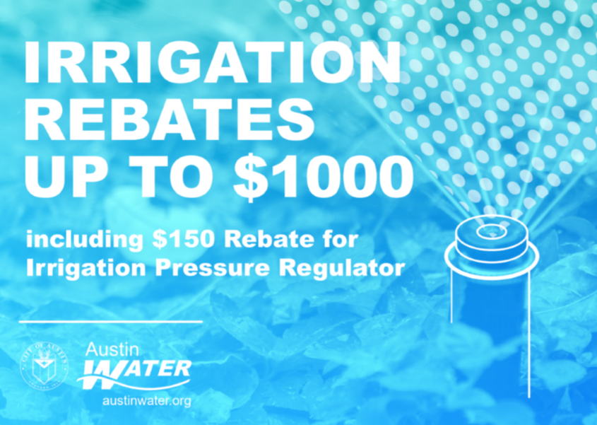 Irrigation Rebate Ad