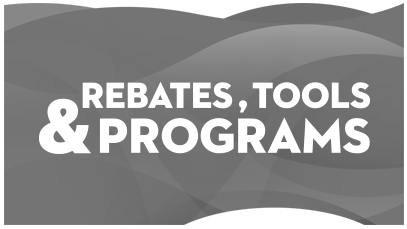 Rebates Tools Programs