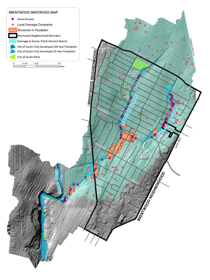 Brentwood Neighborhood Drainage Improvements Study
