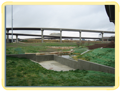 Texas Department of Transportation (TxDOT)  Sedimentation Filtration Ponds
