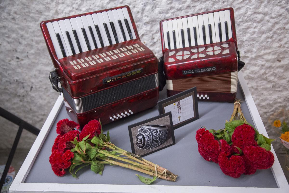 Accordions on an Altar