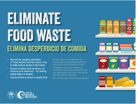 Thumbnail of Food Waste Reduction sign