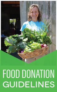 Food Donation Guidelines