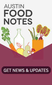 Austin Food Notes Promo