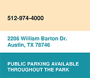 Zilker Hillside Theater - Contact