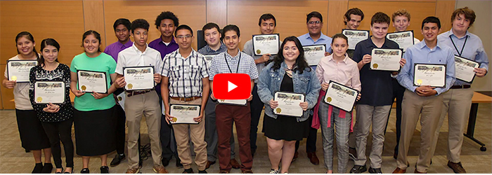 video on YouTube of ABIA Internship Program