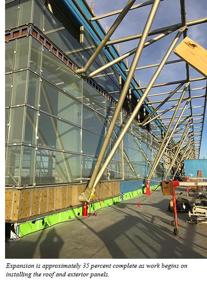 Terminal Expansion Concrete Deck